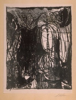 """Untitled (tenth print in """"Drawings"""")"""