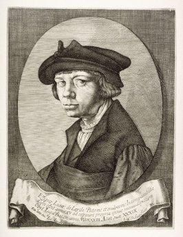 Self-Portrait of Lucas van Leyden