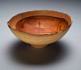 Red Narra Wood Bowl