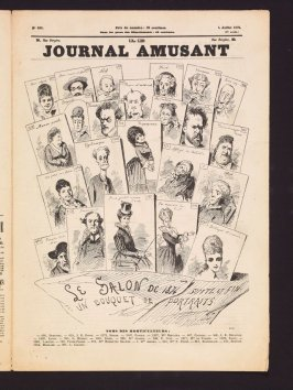 Le Journal Amusant: Le Salon de 1874