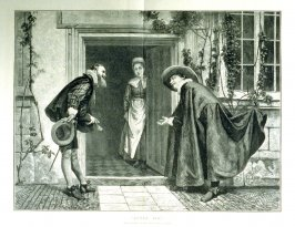 """After You""- From Illustrated London news, 20 July 1872"