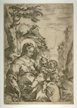 The Madonna and Child with St. John the Baptist