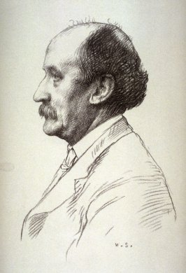 Emery Walker, thirteenth plate from the portfolio Sketches Made on the Lithography Night 14 April 1905 by Member s of the Art Workers Guild, Clifford Inn Hall and Published for the Benefit of the Chest