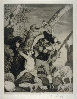 The Farmer's Boy being flogged - The Don Quixote Series