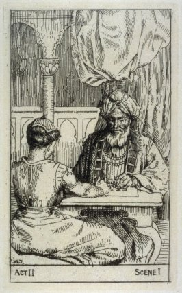 "Sittah and Saladin - Illustrations to Lessing's ""Nathan the Wise"""