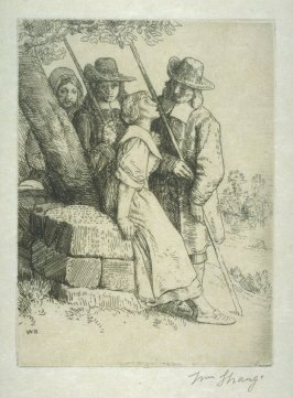 The Milk Maid's Song - Illustrations to Compleat Angler Winchester ed.