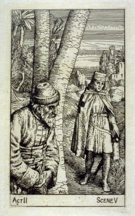 "Nathan and the Templar - Illustrations to Lessing's ""Nathan the Wise"""