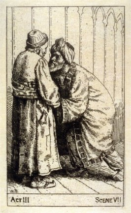 """Nathan and Saladin - Illustrations to Lessing's """"Nathan the Wise"""""""