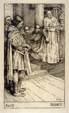 "The Patriarch, the Templar and the Lay-Brother - Illustrations to Lessing's ""Nathan the Wise"""