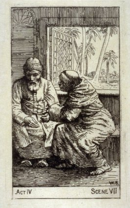 """The Lay-Brother and Nathan - Illustrations to Lessing's """"Nathan the Wise"""""""