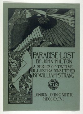 Milton's Paradise Lost - Cover