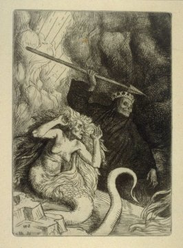 Milton's Paradise Lost - Sin and Death at the Gates of Hell