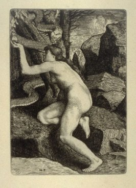 Milton's Paradise Lost - Eve Tempted by Satan in the form of a Serpent