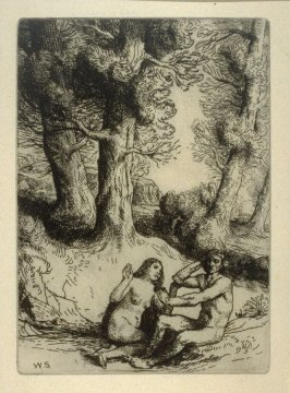 Milton's Paradise Lost - Adam Rejects the Condolement of Eve