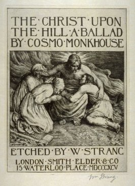 The Christ Upon the Hill - Frontispiece