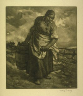 …to the Well, plate at p.12 in the book, Death and the Ploughman's Wife (London: Lawrence and Bullen, 1894)
