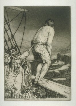 Bread upon the Waters, plate 18 in the book, A Series of thirty Etchings … illustrating Subjects from the Writings of Rudyard Kipling (London: Macmillan, 1901)