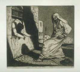 Beyond the Pale, plate 26 in the book, A Series of thirty Etchings … illustrating Subjects from the Writings of Rudyard Kipling (London: Macmillan, 1901)
