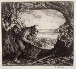 untitled, plate at p. 1 in the book, The Christ upon the Hill (London: Smith, Elder, 1895)