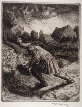 untitled, plate at p. 3 in the book, The Christ upon the Hill (London: Smith, Elder, 1895)
