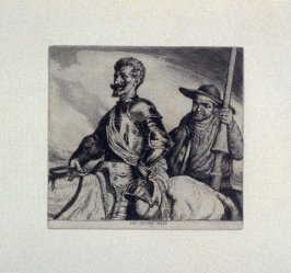 The Second Sally, plate 6 in the book, A Series…illustrating Subjects from 'Don Quixote' (London: Macmillan and Co., 1902)