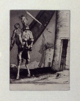The Windmill, plate 7 in the book, A Series…illustrating Subjects from 'Don Quixote' (London: Macmillan and Co., 1902)