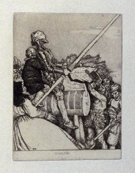 Clavileño, plate 27 in the book, A Series…illustrating Subjects from 'Don Quixote' (London: Macmillan and Co., 1902)