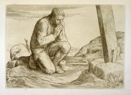 Christian Loses His Burden,opposite page 38 and fifth plate in the book The Pilgrim's Progress by John Bunyan (London: John C. Nimmo, 1895)