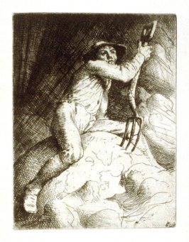 untitled, plate at p. 14 in the book The Earth Fiend (London: Elkin Mathews and John Lane, 1892)