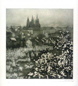 View of Prague in Spring