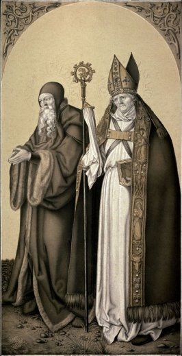 Portraits of St. Simeaon and St. Lazarus