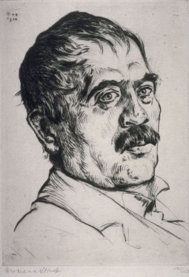 Portrait of Lovis Corinth