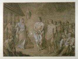 Pylades and Orestes Brought Before Iphigenia