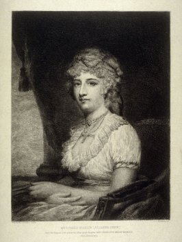 Mrs. Philip Nicklin, plate 4 in the book, Choice Etchings (London: Alexander Strahan, 1887)