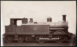 London Chartham and Dover Railway Locomotive