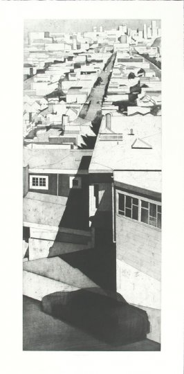 "A Street ""from Bernal Heights, San Francisco"""