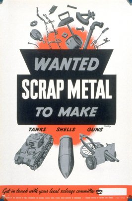 Wanted: Scrap Metal to Make Tanks, Shells, Guns
