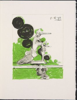 """""""Hybrid"""" by Graham Sutherland, pg. 247, in the book Souvenirs et portraits d'artistes (Reminiscences and Portraits of Artists) by Fernand Mourlot (Paris: Alain c. Mazo, 1972 and in New York: Léon Amiel, 1972)."""