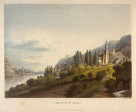The Town of Bingen, on the Rhine
