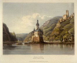 Pfalz Castle and the Town of Laub, on the Rhine