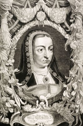 Portrait of Johanna Uxor Philippu I, Queen of Castile, Archduchess of Austria