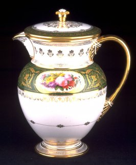 Milk pitcher with lid
