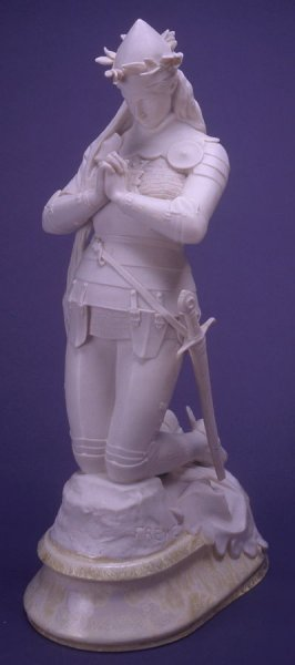 Jeanne d'Arc praying