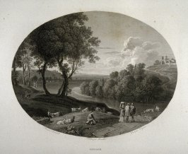 Paysage (Landscape)...fifty fourth plate in the book... Le Musée royal (Paris: P. Didot, l'ainé, 1818), vol. 2
