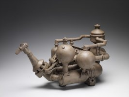 Salvage Yard Teapot F4E
