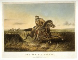 """The Prairie Hunter. """"One rubbed out!"""""""