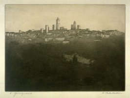 View of S.Gimignano