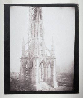 Sir Walter Scott's Monument, Edinburgh, proof for pl. 2 of the book Sun Pictures in Scotland (published 1845)