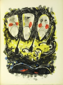 Untitled, in the book Air Mexicain by Benjamin Péret (Paris: Editions Des Minuit, 1952).
