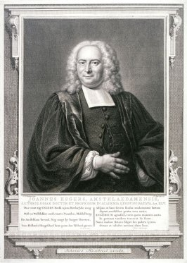 Portrait of Prof. Joannes Esgers of Amsterdam